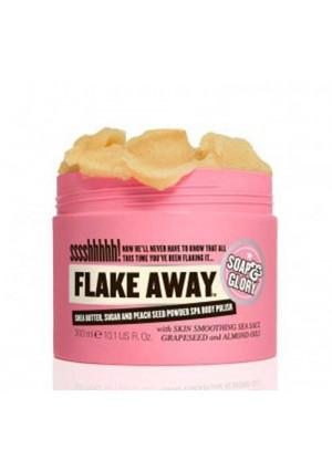 Soap & Glory Soap And Glory Flake Away Body Polish With Shea Butter and Sea Salt 300ml