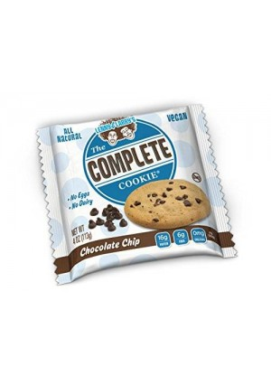 Lenny & Larry's Lenny and Larry's The Complete Cookie, Chocolate Chip, 4-Ounce Cookies (Pack of 12)