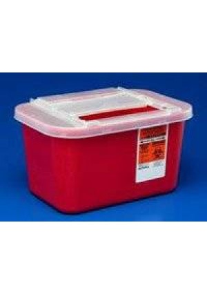PT# -31143699 PT# # 31143699- Container Sharps-A-Gator Red 1gal Ea by, Kendall Company