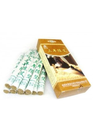 NANYANG Three Chen Pure Moxa Rolls for Moxibustion (2 Boxes for 20 Rolls)
