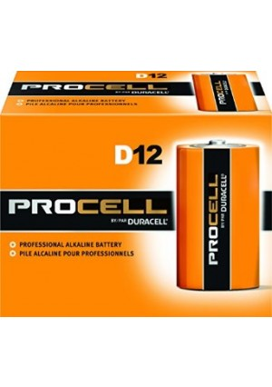 Duracell Procell D 12 Pack PC1300