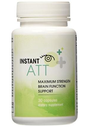 Instant ATT All-Natural Brain Supplement, 30 Capsules