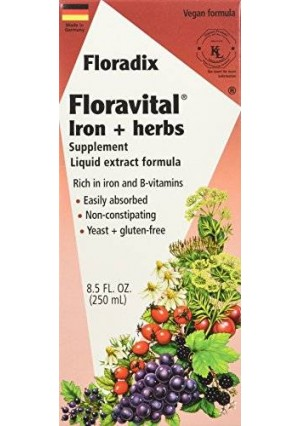 Salus-Haus - Floradix Floravital Iron and Herbs Yeast Free - 8.5 oz (FFP)