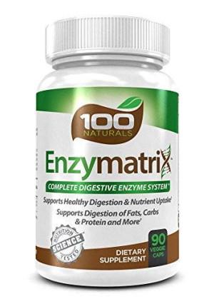 100 Naturals Enzymatrix: Complete Digestive Enzyme System