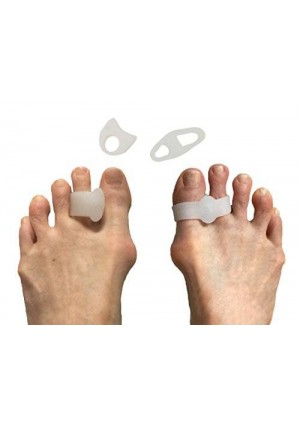Tip and Toes Toe Separators and Toe Spreaders Variety Pack
