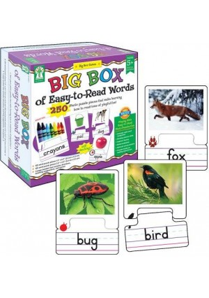 Key Education Big Box of Easy-to-Read Words Educational Board Game