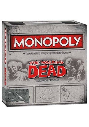 USAopoly Monopoly: The Walking Dead (Survival Edition)