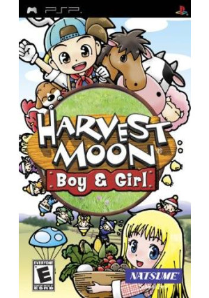 Natsume Harvest Moon: Boy and Girl - Sony PSP