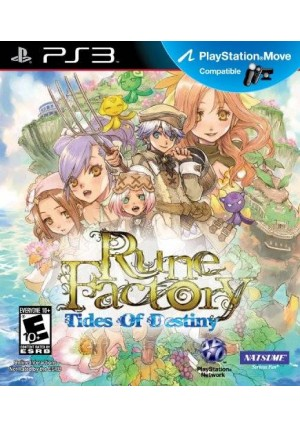 Natsume Rune Factory: Tides of Destiny - Playstation 3