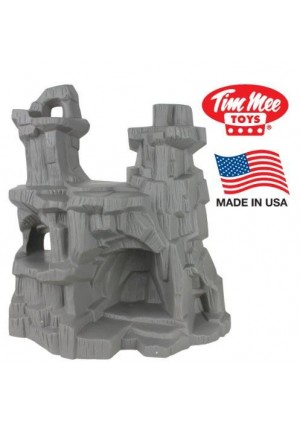 Tim Mee TimMee Battle Mountain: 15 inch high Cliffs and Caves for figure Display or Play - Made in the USA!