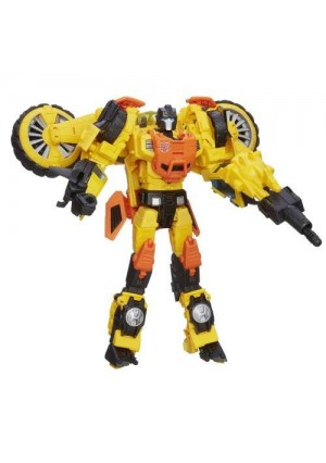 Transformers Generations Thrilling 30 Voyager Class Sandstorm Figure
