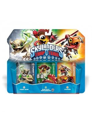 Activision Skylanders Trap Team: Funny Bone, Chopper, and Shroomboom - Triple Character Pack