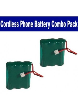 Synergy Digital ATandT-Lucent 3301 Cordless Phone Combo-Pack includes: 2 x BATT-2414 Batteries