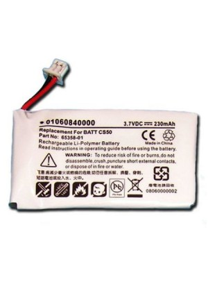 Dantona BATT-CS50 - Li-Ion, 3.7 Volt, 230 mAh, Ultra Hi-Capacity Battery - Replacement Battery for Plantro
