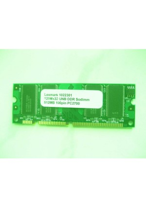 Keystron 1022301 512MB 100pin PC2700 Memory Upgrade for Lexmark Printer X544dn,X544dtn,X544n,X543dn,X544dw,