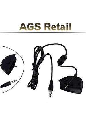 AGSretail XBOX 360 / LIVE PUCK TALKBACK CHAT CABLE FOR TURTLE BEACH and ASTRO GAMING HEADSETS - REPLACEMENT