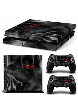 Pavior Vinyl Decal Protective Skin Cover Sticker for Sony PS4 Console And 2 Dualshock Controllers #12