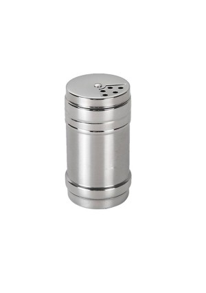 Bodos Stainless Steel Dredge Salt / Sugar / Spice / Pepper Shaker Seasoning Cans with Rotating Cover