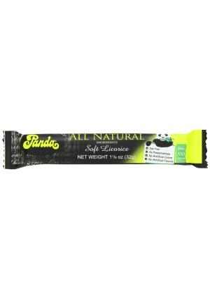 Panda All Natural Licorice Bar, 1 1/8 Oz/ 32g (Pack of 36)