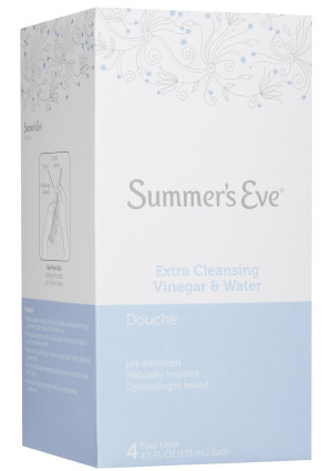 SUMMER'S EVE Extra Cleansing Douche 4 Pack-18 oz