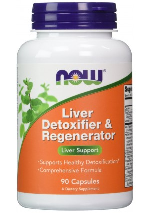 NOW Foods Liver Detoxifier and Regenerator 90 Capsules (Pack of 2)