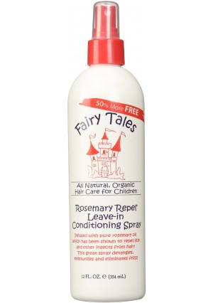 Fairy Tales Rosemary Repel Leave-In Conditioning Spray 12oz 50% More Free