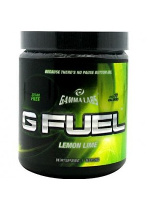 Gamma Labs G Fuel, Lemon Lime, 40 Servings, From Gamma