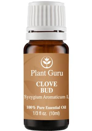 Plant Guru Clove Bud Essential Oil. 10 ml. 100% Pure, Undiluted, Therapeutic Grade .