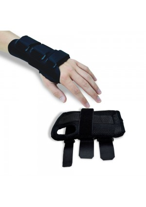 Houseables Wrist Brace Pair, Two (2), Small/Medium, Carpal Tunnel, Right and Left Wrist Support, Forearm Spli