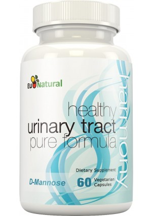 Eu Natural Harmony Urinary Tract and Bladder Support with D-Mannose, 60 Vegetarian Capsules (Extra Strength F