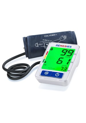 Blood Pressure Monitor, Easy and Accurate Readings.Guaranteed Instant, Automatic Digital Upper Arm Cuff , Portable and Perfect for Home Use Cuff that fits Standard and Large Arms