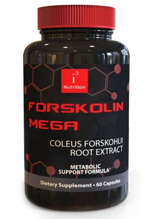 Forskolin Mega by i3 Nutrition - Coleus Forskohlii Extract to Lose Weight Fast - Cutting Edge Metabolism Booster, Fat Burner, and Natural Appetite Suppressant That Works