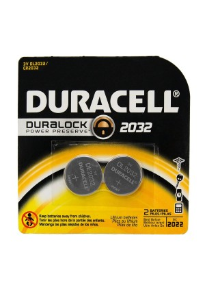 12 Duracell CR2032 / DL2032 Duralock Lithium Batteries Cell Button Electronics