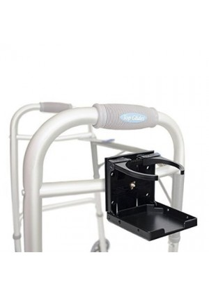 Healthstar Adjustable Drink Cup Holder for Wheelchairs, Walkers, Rollators, and Bikes