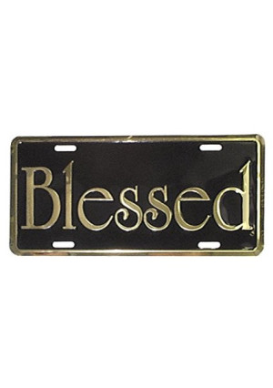 Swanson Christian 1 X Deluxe Autotag Gold Blessed