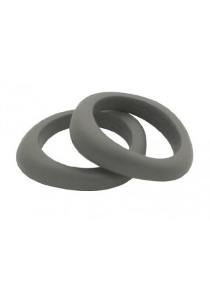 Jellystone Designs Jellystone Organic Bangle Teether- Stormy Grey
