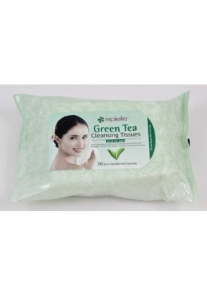 scthkidto Epielle 30 Pre-moistened Green Tea Cleansing Tissues (2 Pack)