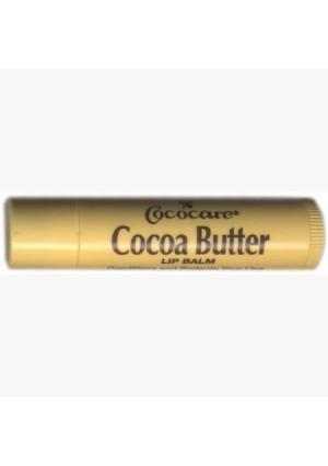 Cocoa Butter Lip Balm, .15 oz, 10 Pack