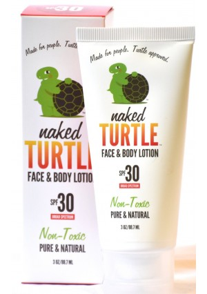 Naked Turtle Sun SPF 30 Natural Mineral Sunscreen with Aloe