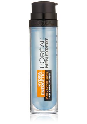 L'Oreal Paris Skin Care Men Expert Hydra Energetic 3 Day Beard Daily Moisturizer, 1.7 Fluid Ounce