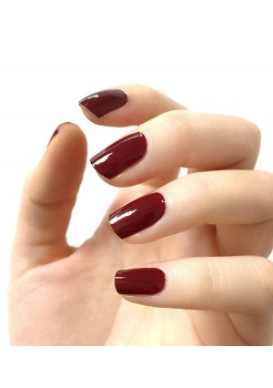 Authentic Incoco Nail Polish 16 Double-ended Strips By It's a Nail - RED Romance