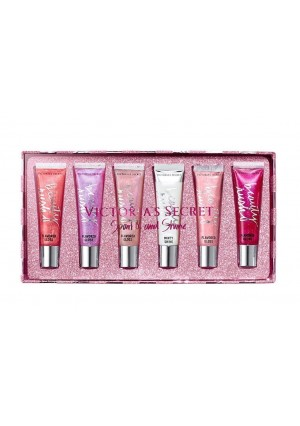 Victoria's Secret Beauty Rush 6 Flavored Pieces Lip Gloss Gift Set
