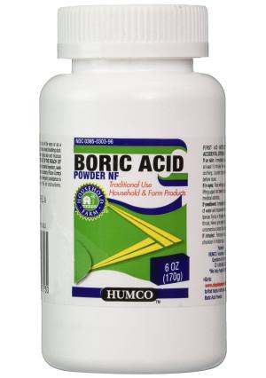 HUMCO HOLDING GROUP, INC. *** HUMCO HOLDING GROUP Boric Acid Powder, 6 Ounce