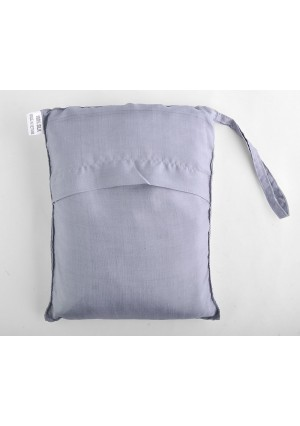 "Marycrafts sleeping bag liner Silver 100% Pure Mulberry Silk Single Sleeping Bag Liner Travel Sheet Sleepsack 83""x33"""