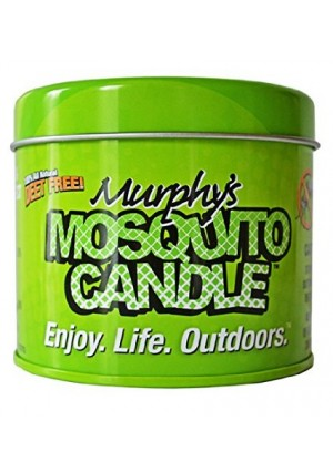 Murphy's Mosquito Sticks Murphy's Mosquito Candle - All Natural Insect Repellent Candle - RSPO Palm wax infused with Citron