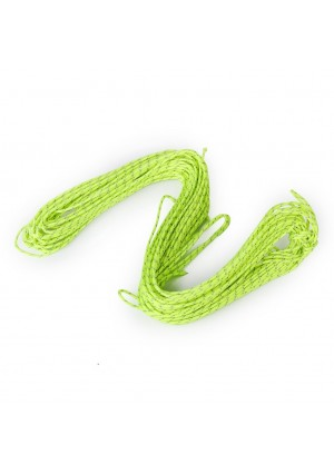 Generic 20m 1.8MM Fluorescent Reflective Guyline Tent Rope Camping Cord Paracord Green