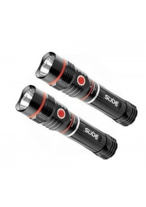 AOR POWER Nebo Slyde 6156 Flashlight and Worklight - Twin Pack