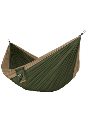 Fox Outfitters Neolite Trek Camping Hammock - Lightweight Portable Nylon Parachute Hammock for Backpacking, Trave