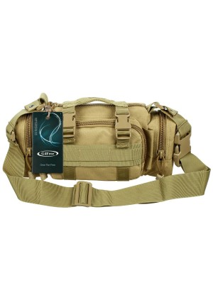 G4Free Deployment Bag Versatile Tactical Waist Pack,Hand Carry Camping Military Style Belt Bag Rucksack Outdoor Bumbag Fanny Pack