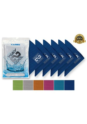 CAGES Best Selling Mesh Instant Cooling Towel on the Market Guaranteed!